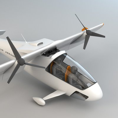 Dufour Aerospace Is Designing an Electric Aircraft with a Tilting Wing
